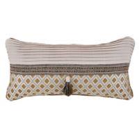 Croscill® Philomena Boudoir Throw Pillow in Beige