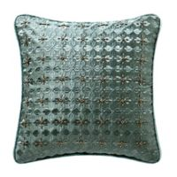 Waterford® Anora 14-Inch Square Throw Pillow in Jade