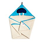 3 Sprouts Hooded Towel in Blue Walrus