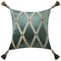 Waterford® Anora 16-Inch Square Throw Pillow in Jade