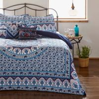 Azalea Skye® Amena King Duvet Cover Set in Indigo