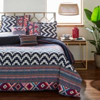 Azalea Skye® Kilim Stripe Twin Duvet Cover Set in Indigo
