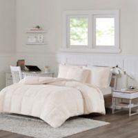 Intelligent Design Jensen Reversible 3-Piece Full/Queen Comforter Set in Ivory