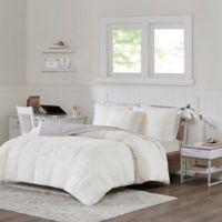Intelligent Design Jensen Reversible 3-Piece King Comforter Set in Grey
