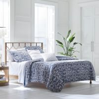 Trina Turk® Bamboo Forest Twin Quilt Set in Dark Blue