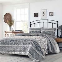 Stone Cottage® Abbey King Quilt Set in Grey