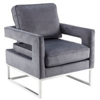 Madison Park™ Polyester Upholstered Lyndale Chair in Grey
