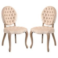 Carly Dining Chairs in White (Set of 2)