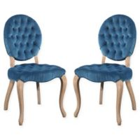 Carly Dining Chairs in Blue (Set of 2)
