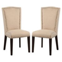 Jillian Dining Chairs in White (Set of 2)