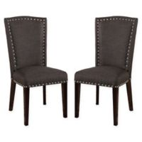 Jillian Dining Chairs in Grey (Set of 2)