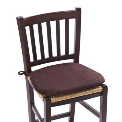 Memory Foam Chair Cushion In Chocolate