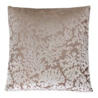 Cara Coral Throw Pillow in Off White