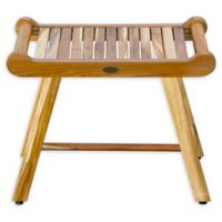 EcoDecors® Sebsgarn 24-Inch Teakwood Bench in Natural