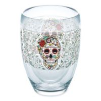 Tervis® Fiesta Skull 9 oz. Wrap Stemless Wine Glass