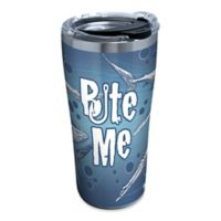 """Tervis® """"Bite Me"""" Shark 20 oz. Stainless Steel Tumbler with Lid"""