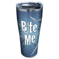 "Tervis® ""Bite Me"" Shark 30 oz. Stainless Steel Tumbler with Lid"