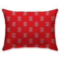 North Carolina State University Rectangular Microplush Standard Bed Pillow