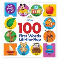 "Disney® ""100 First Words"" Lift-The-Flap Book"