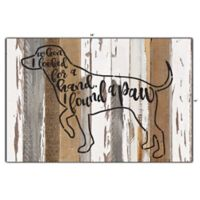 Sweet Bird & Co. I Found a Paw Reclaimed Wood Wall Art