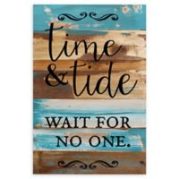 "Sweet Bird & Co. ""Time & Tide"" Reclaimed Wood Wall Art"