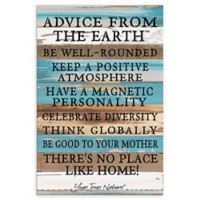 Sweet Bird & Co. Advice From The Earth Reclaimed Wood Wall Art
