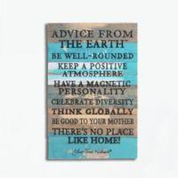 Sweet Bird & Co. Advice From A Lake Reclaimed Wood Wall Art