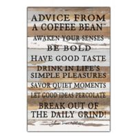 "Sweet Bird & Co. ""Advice From The Sunset"" 12-Inch x 18-Inch Wood Wall Art"