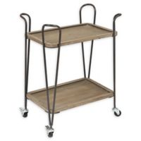 Winsome Home 2-Tray Multipurpose Cart in Natural