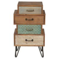 Winsome Home 4-Drawer Accent End Table