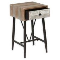 Winsome Home Deco Single Drawer End Table