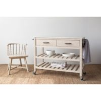 Bee & Willow™ Home Wood Kitchen Cart in Light Natural