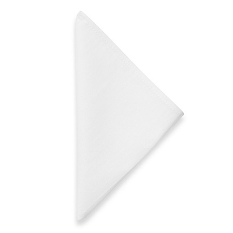 Dinner Napkins in White (Set of 12)