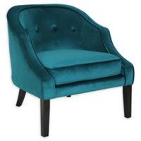 Lumisource® Velvet Upholstered Sofia Chair in Green