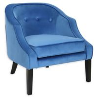 Lumisource® Velvet Upholstered Sofia Chair in Blue