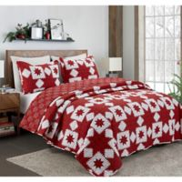 Holiday Reversible Full/Queen Quilt in Red