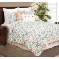 C&F Home Seatopia Twin Quilt Set in Blue/Yellow