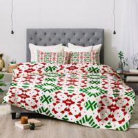 Deny Designs Lisa Argyropoulos Lodge Queen Comforter Set in Green