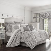 J. Queen New York™ Pierce Queen Comforter Set in Charcoal