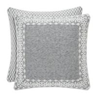 J. Queen New York™ Pierce European Pillow Sham in Charcoal