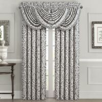 J. Queen New York™ Pierce 84-Inch Rod Pocket Window Curtain Panel in Charcoal
