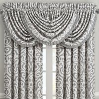 J. Queen New York™ Pierce Rod Pocket Window Valance in Charcoal