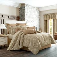 J. Queen New York™ Sardinia Queen Comforter Set in Gold