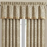 J. Queen New York™ Sardinia Rod Pocket Window Valance in Gold