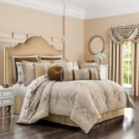 J. Queen New York™ Gianna Queen Comforter Set in Gold