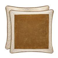 J. Queen New York™ Gianna European Pillow Sham in Gold