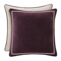 J. Queen New York Grace European Pillow Sham in Amethyst