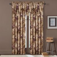 J. Queen New York Grace 84-Inch Window Curtain Panel Pair in Amethyst