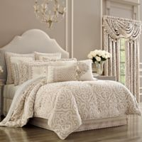 J. Queen New York™ Milano Queen Comforter Set in Sand