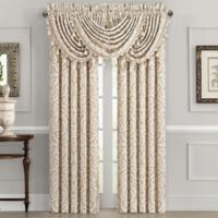 J. Queen New York™ Milano 84-Inch Rod Pocket Window Curtain Panel Pair in Sand